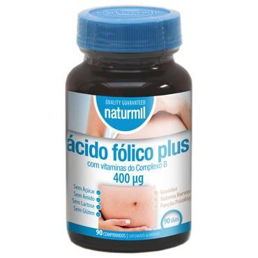 ACIDO FOLICO PLUS NATURMIL 90 COMP DIETMED