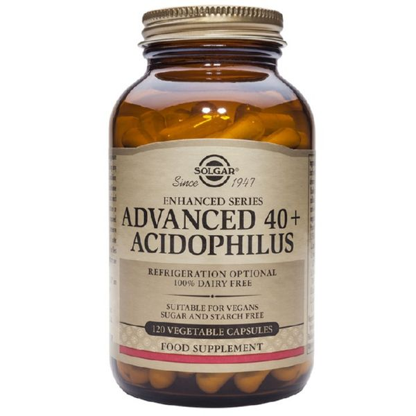 ACIDOPHILUS ADVANCED 40+ 60 CAPS SOLGAR