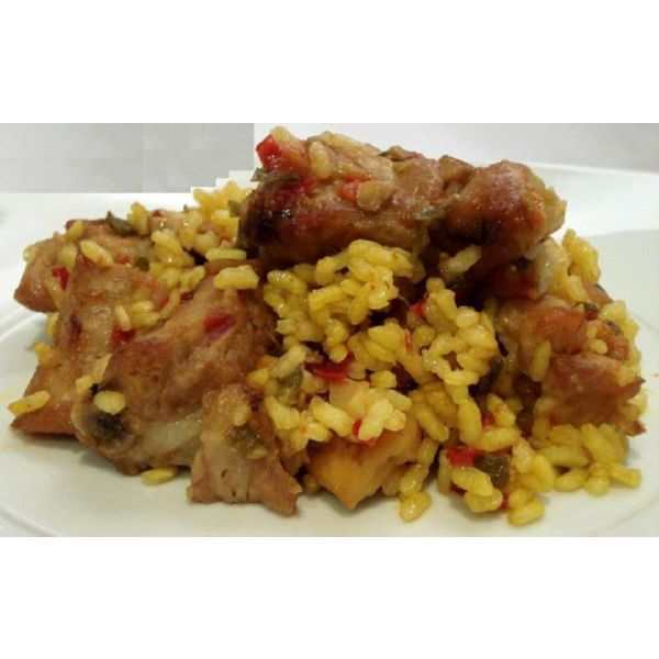 ARROZ CON COSTILLAS 300 G EASY GOURMET