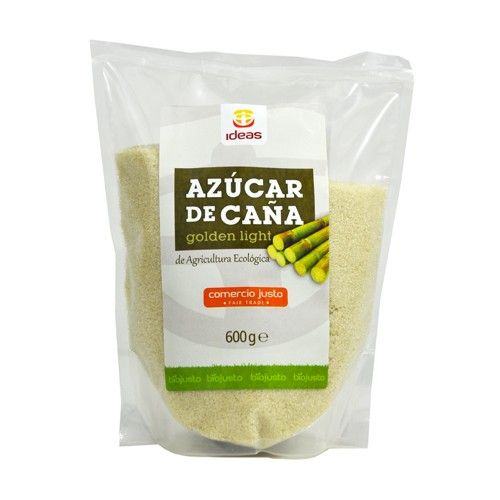 AZUCAR DE CAÑA GOLDEN LIGHT ECOLOGICA 600 G IDEAS