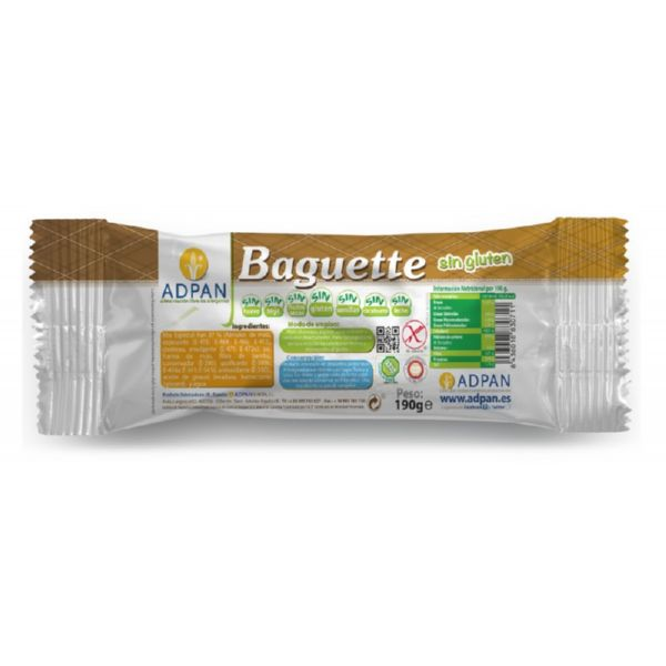 BAGUETTE ESPECIAL 1 UD 190 G ADPAN