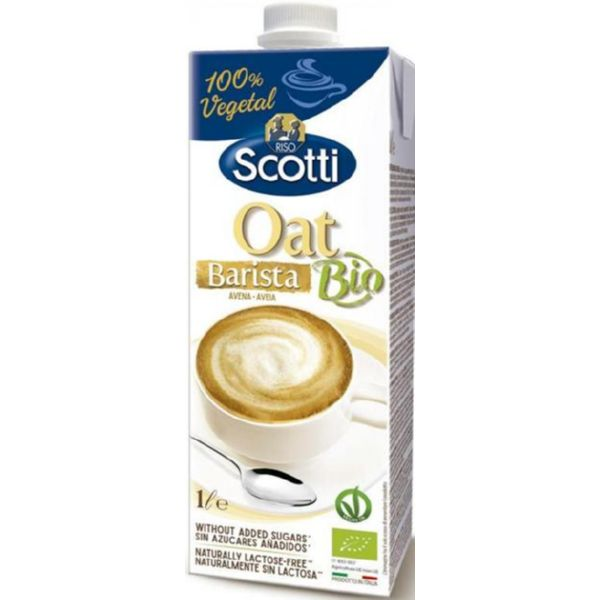 BEBIDA DE AVENA BIO BARISTA IDEAL CAFE 1 LITRO SCOTTI
