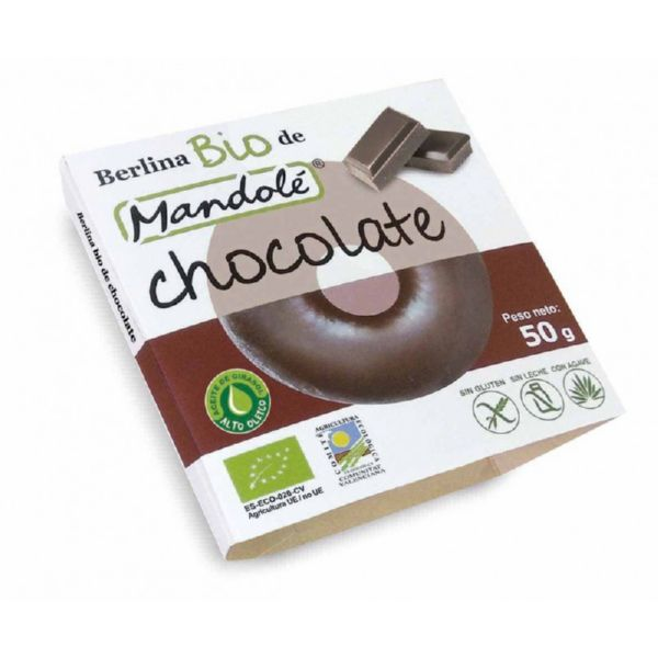 BERLINA DE CHOCOLATE BIO 50 G MANDOLE