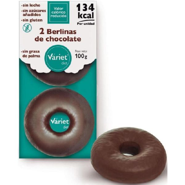 BERLINAS DE CHOCOLATE 2x50 G VARIET DIET