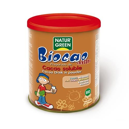 BIOCAO CACAO SOLUBLE 400 G NATURGREEN
