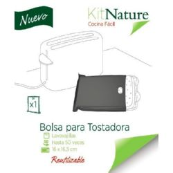BOLSA TOSTADORA REUTILIZABLE 16x16,5 CM KIT NATURE