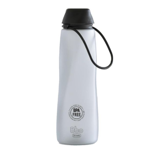 BOTELLA BBO TRITAN NEGRO 700 ML IRISANA