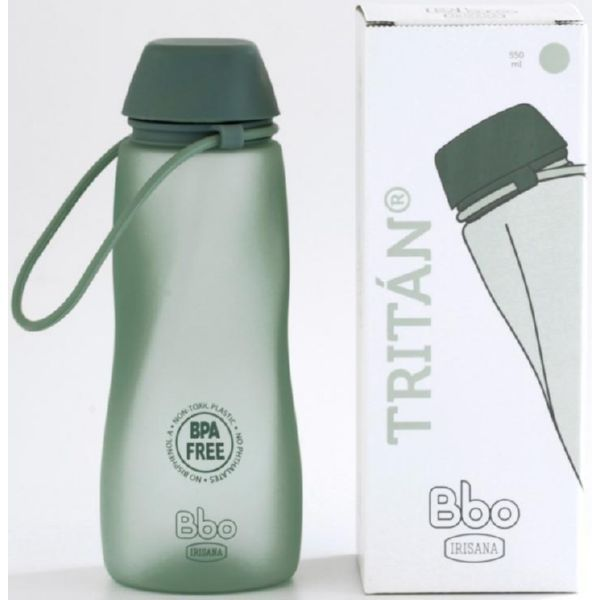 BOTELLA BBO TRITAN VERDE 700 ML IRISANA