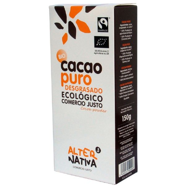 CACAO PURO DESGRASADO ECO 250 G ALTERNATIVA3