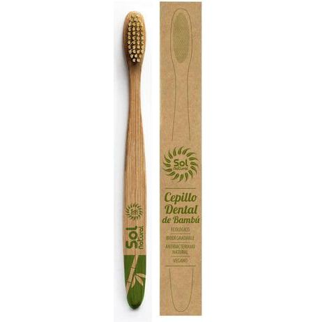 CEPILLO DENTAL BAMBU ADULTO SOL NATURAL