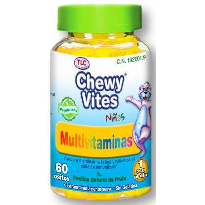 CHEWY VITES MULTIVITAMINAS 60 OSITOS TLC