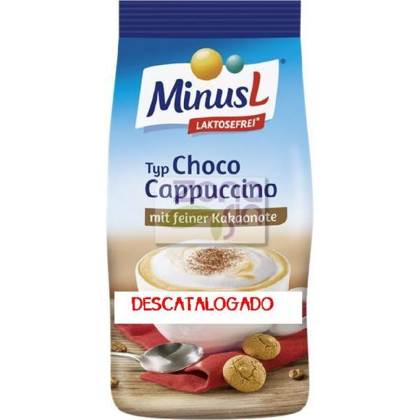 CHOCO CAPPUCCINO SIN LACTOSA 350 G MINUSL