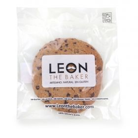 COOKIE CHOCOLATE 80 G LEON THE BAKER