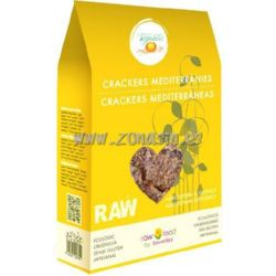 CRACKERS MEDITERRANEAS RAW BIO 50 G VEGETALIA