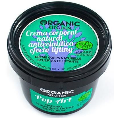 CREMA CORPORAL REMODELADORA LIFTING POP ART 100 ML ORGANIC KITCHEN