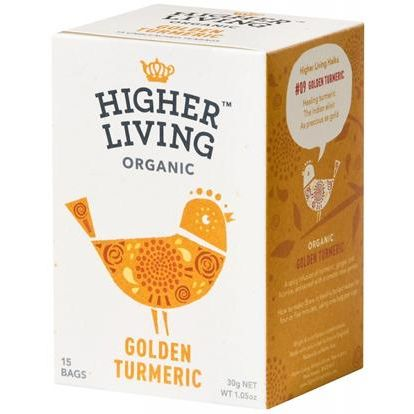 CURCUMA DORADA ECO INFUSION 15 UD HIGHER LIVING