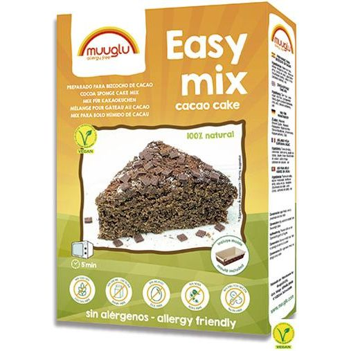 EASY MIX BIZCOCHO CHOCOLATE 350 G MUUGLU