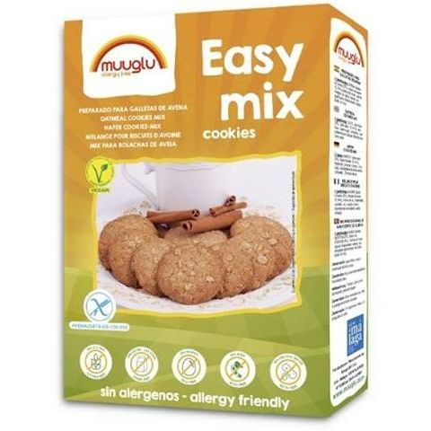 EASY MIX COOKIES DE AVENA 350 G MUUGLU