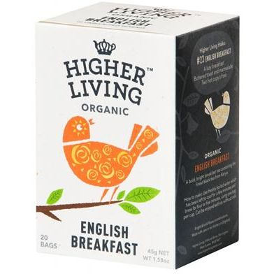 ENGLISH BREAKFAST TE NEGRO ECO INFUSION 15 UD HIGHER LIVING