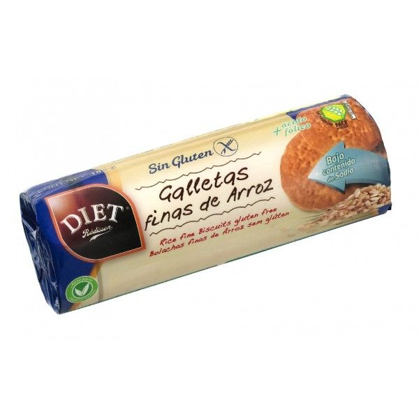 GALLETAS ARROZ FINAS 210 G DIET RADISSON