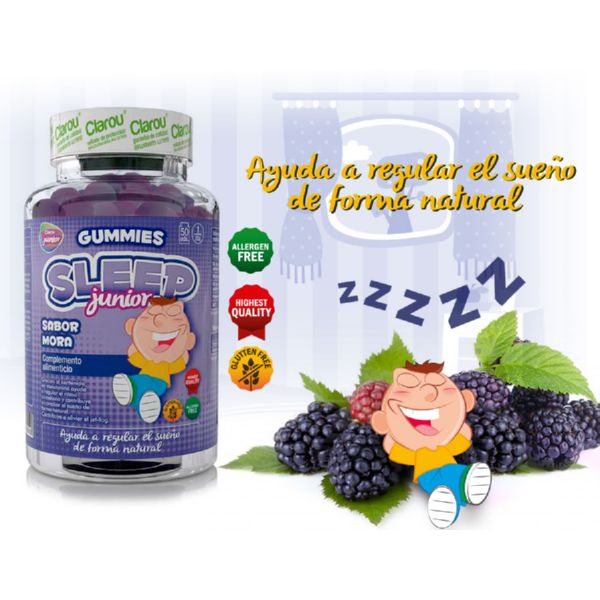 GUMMIES SLEEP JUNIOR MORA 50 UD CLAROU