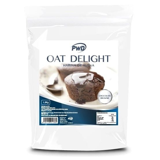 HARINA AVENA OAT DELIGHT CHOCOLATE BROWNIE 1,5 KG PWD