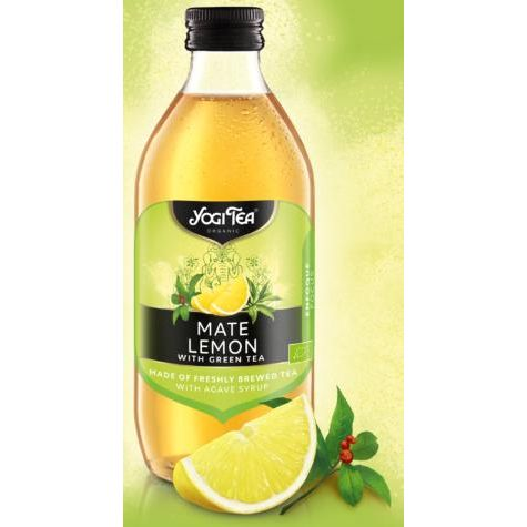 INFUSION MATE LIMON ECO 330 ML YOGI TEA