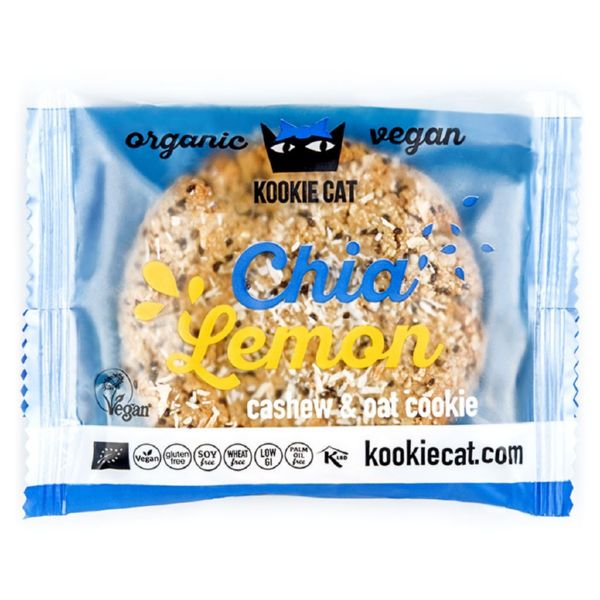 KOOKIE CAT CHIA LIMON 50 G KOOKIE CAT