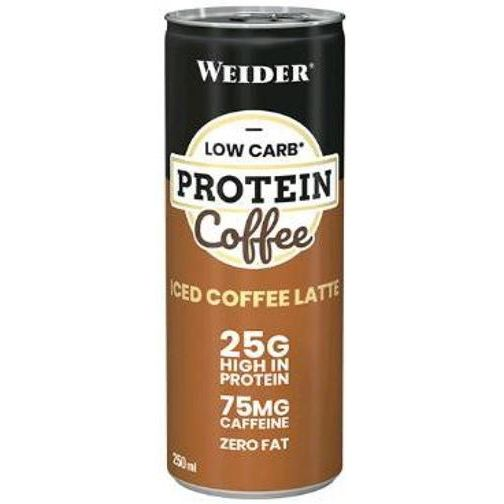 LOW CARB PROTEIN SHAKE ICED COFFE LATTE 250 ML WEIDER