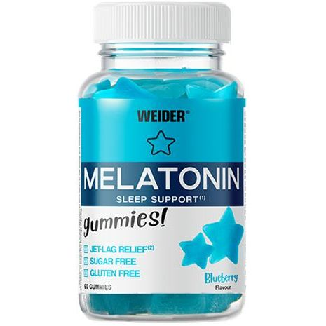 MELATONIN UP 60 GOMINOLAS WEIDER
