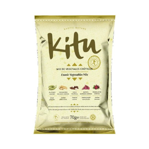 MIX VEGETALES EXOTICOS ECO 70 G KITU