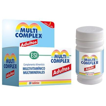 MULTICOMPLEX ADULTO ESI 30 TABLETAS