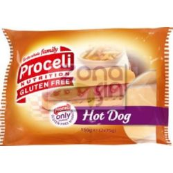 PAN DE PERRITOS (HOT DOG) 2x75 G PROCELI