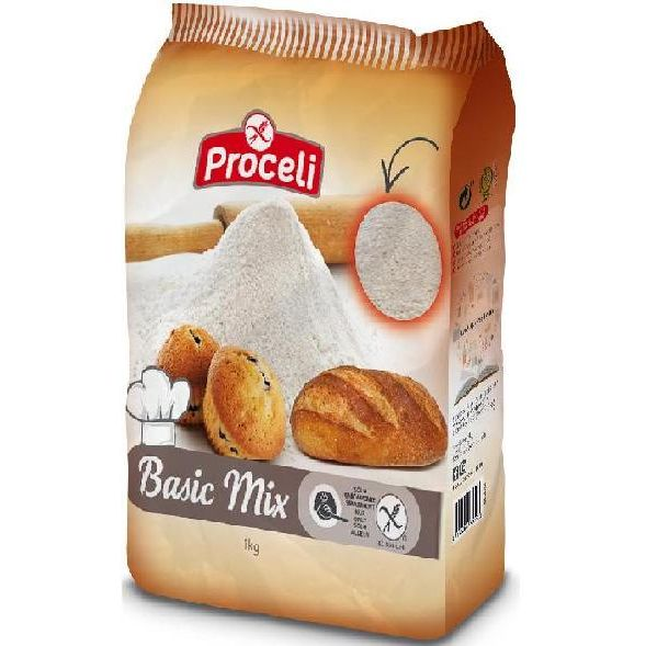 PREPARADO PANIFICABLE BASIC MIX 1 KG PROCELI