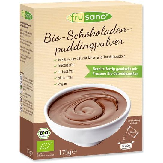 PUDING CHOCOLATE BIO 175 G FRUSANO