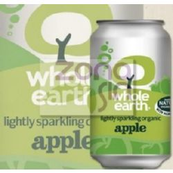 REFRESCO DE MANZANA BIO 330 ML WHOLE EARTH