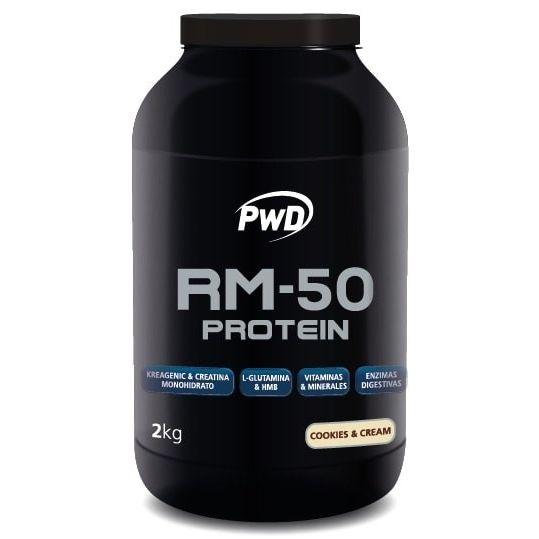 RM 50 PROTEIN PROTEINAS COOKIES-CREAM 2 KG PWD