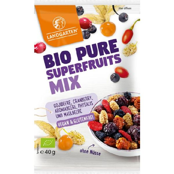 SUPERFRUIT MIX BIO 40 G LANDGARTEN