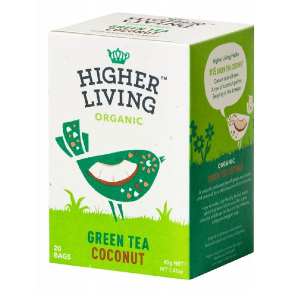 TE VERDE COCO ECO 20 UD HIGHER LIVING