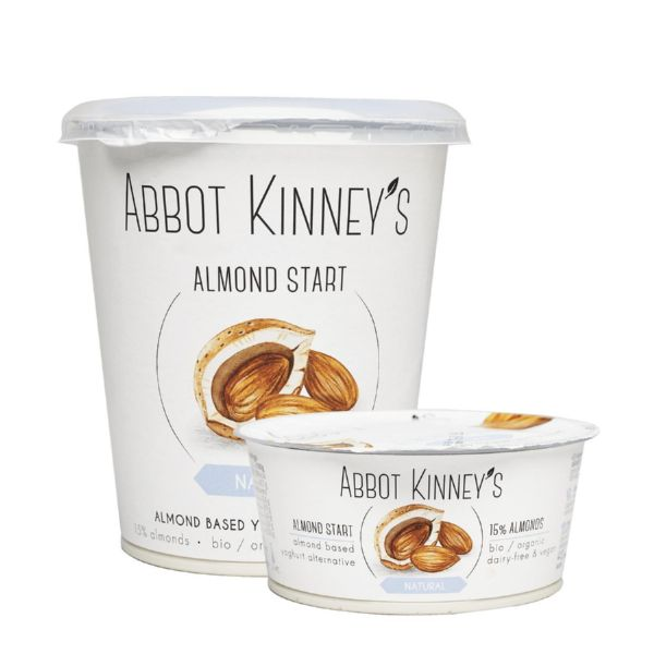 YOGURT ALMENDRA BIO 125 ML ABBOT KINNEY