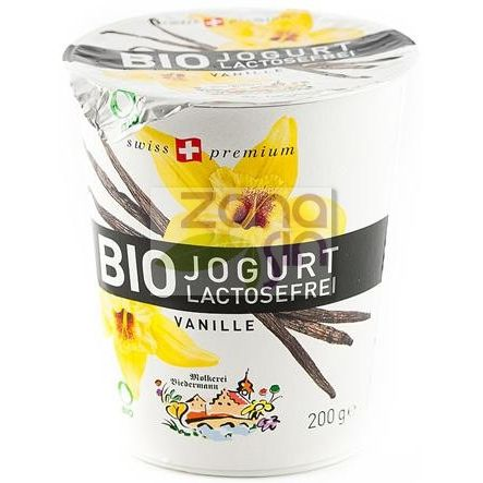 YOGURT VAINILLA BIO 200 G BIEDERMANN